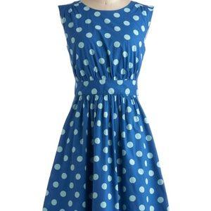 Emily & Fin Polka Dot Dress Mod Cloth